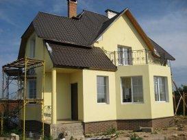 оздоблення фасаду будинку