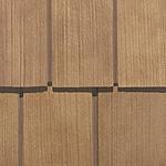 Фасадні панелі Nailite серії Натуральний кедр