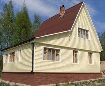 Оздоблення будинків сайдингом