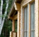 Оздоблення фасаду штучним каменем