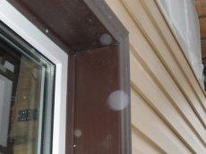 обробка вікон сайдингом